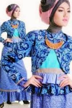 baju muslim batik kasual untuk remaja