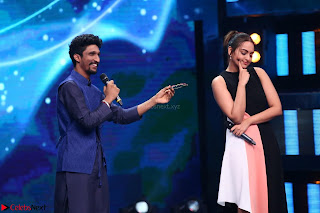 Sonakshi Sinha on Indian Idol to Promote movie Noor   IMG 1577.JPG