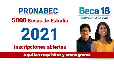 #Beca18 Estudia la Universidad o Instituto Superior  con una BECA que paga TODO
