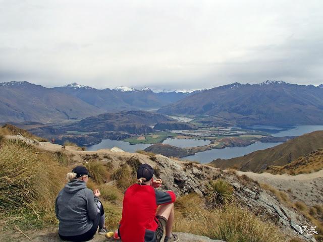 view of roys peak road trip new zealand