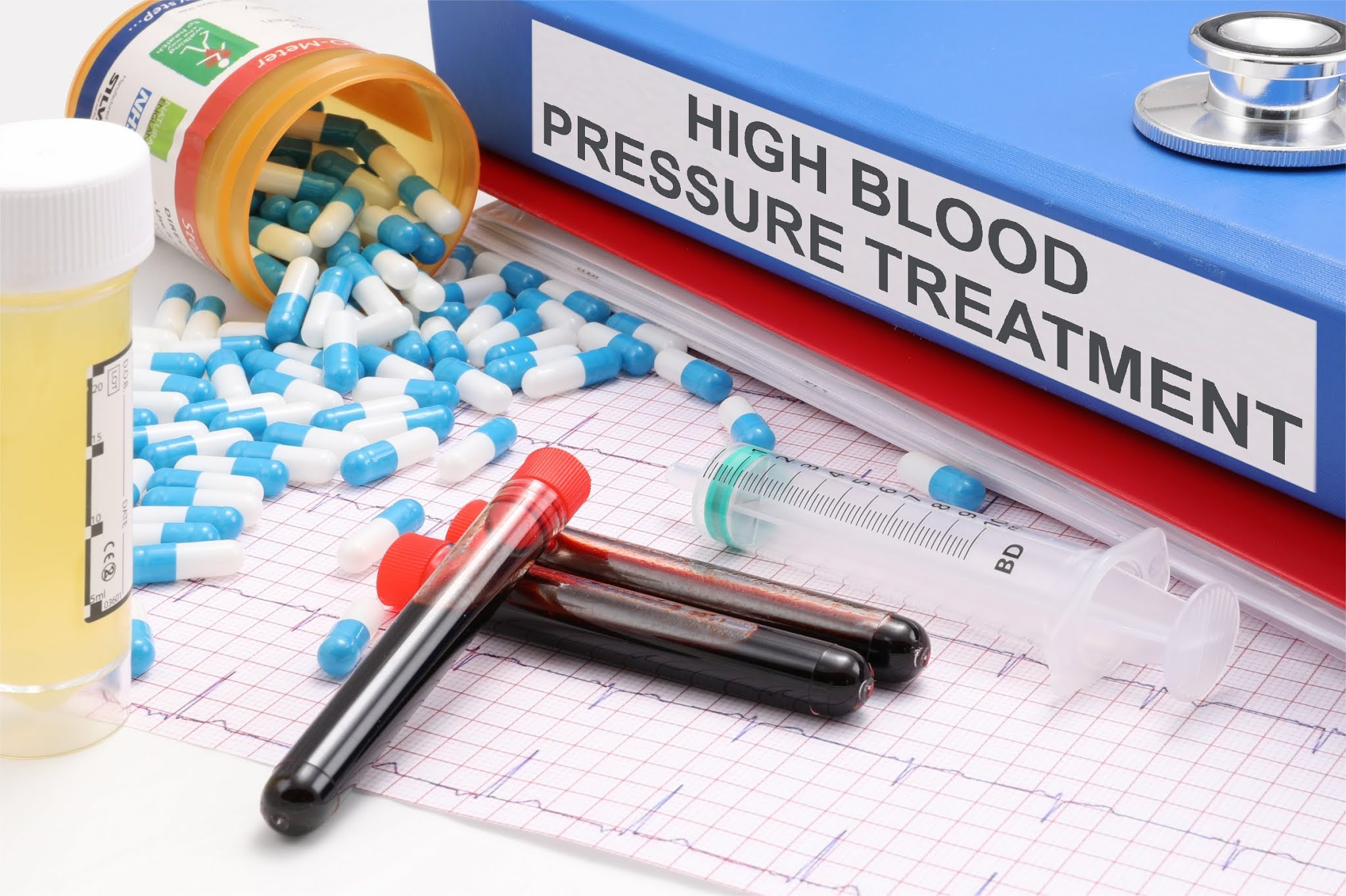 Cure of High Blood Pressure