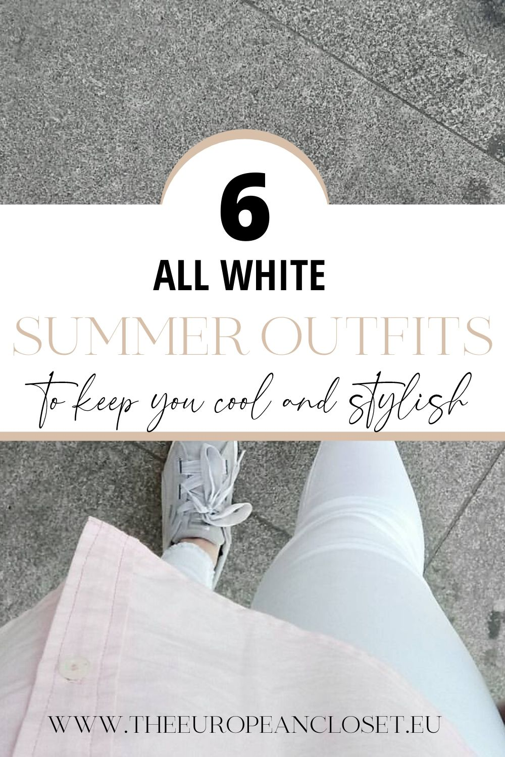 For today's post, I decided to gather six different all-white outfits you can easily recreate. These outfits are perfect for summer: they are lightweight, flowy, white and, most of all, comfortable.
