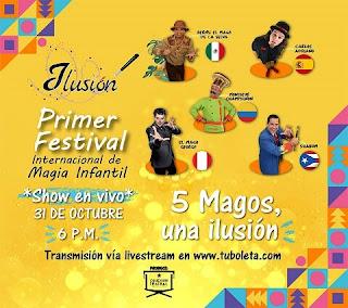 ILUSION 2020 | 1er Festival Internacional De Magia Infantil