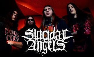 Les membres de Suicidal Angels