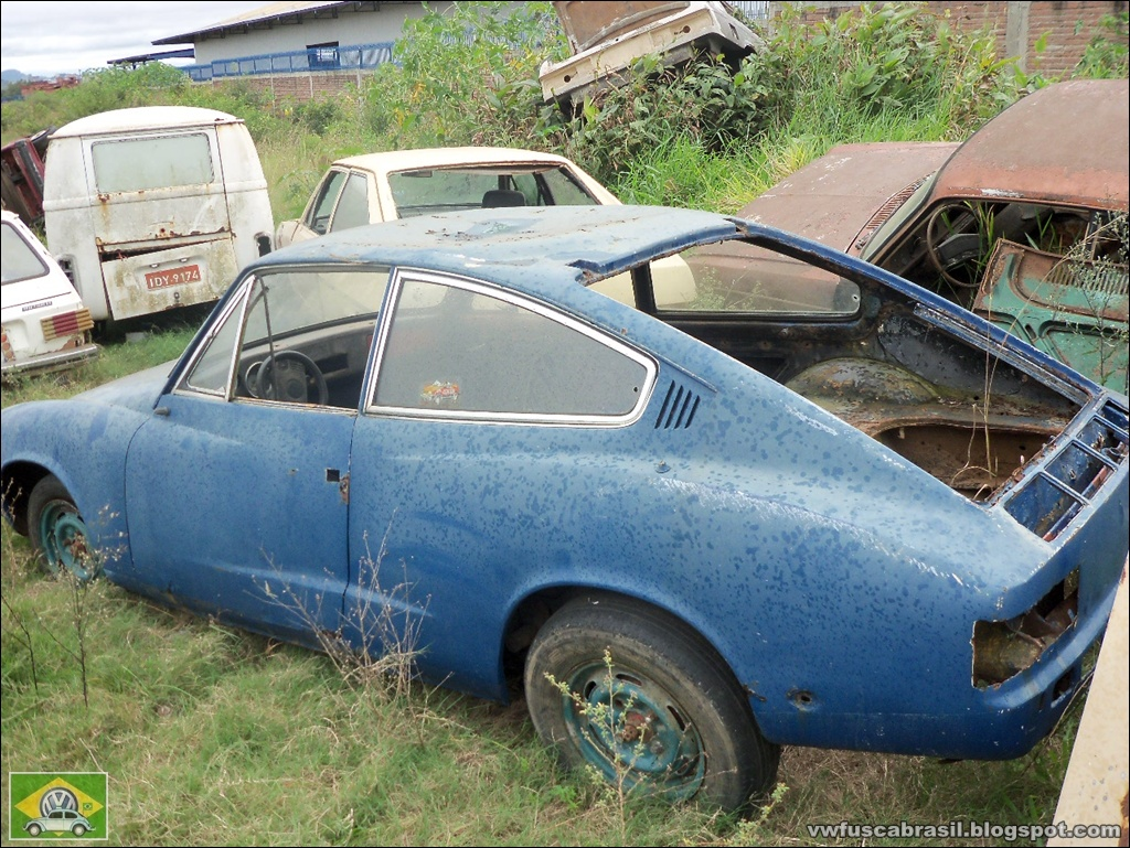 Vw Fusca Brasil  Abandonados  Karmann Ghia Tc