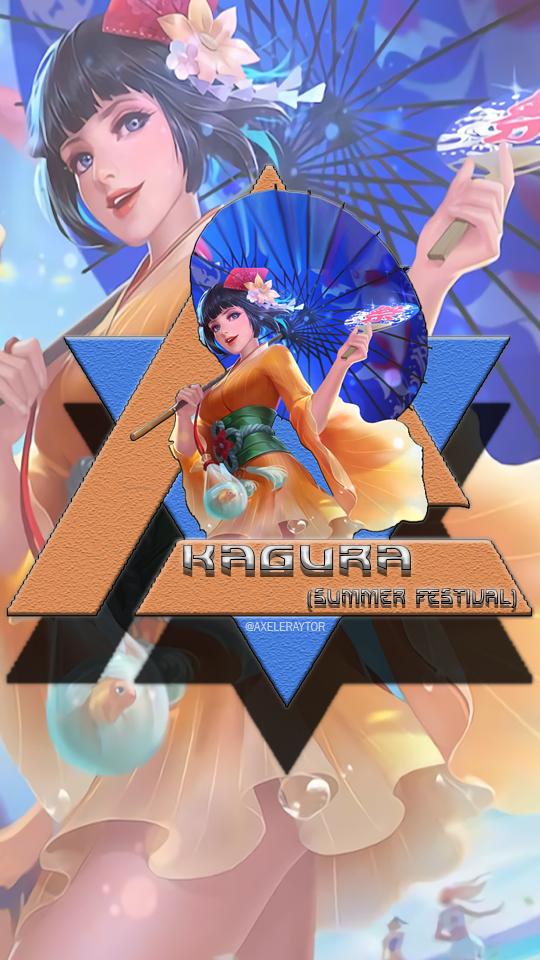 Wallpaper Kagura Summer Festival Hd