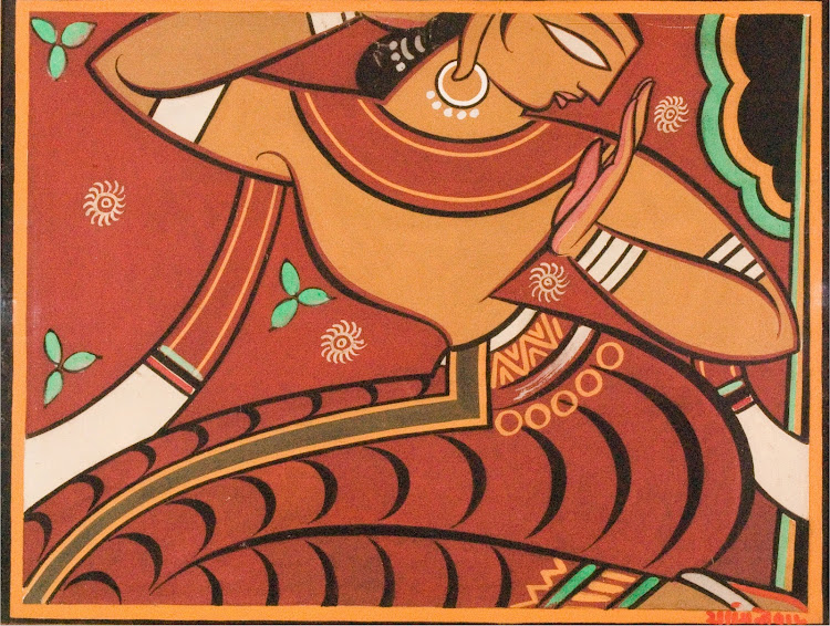 Gopini by Jamini Roy, 20th Century