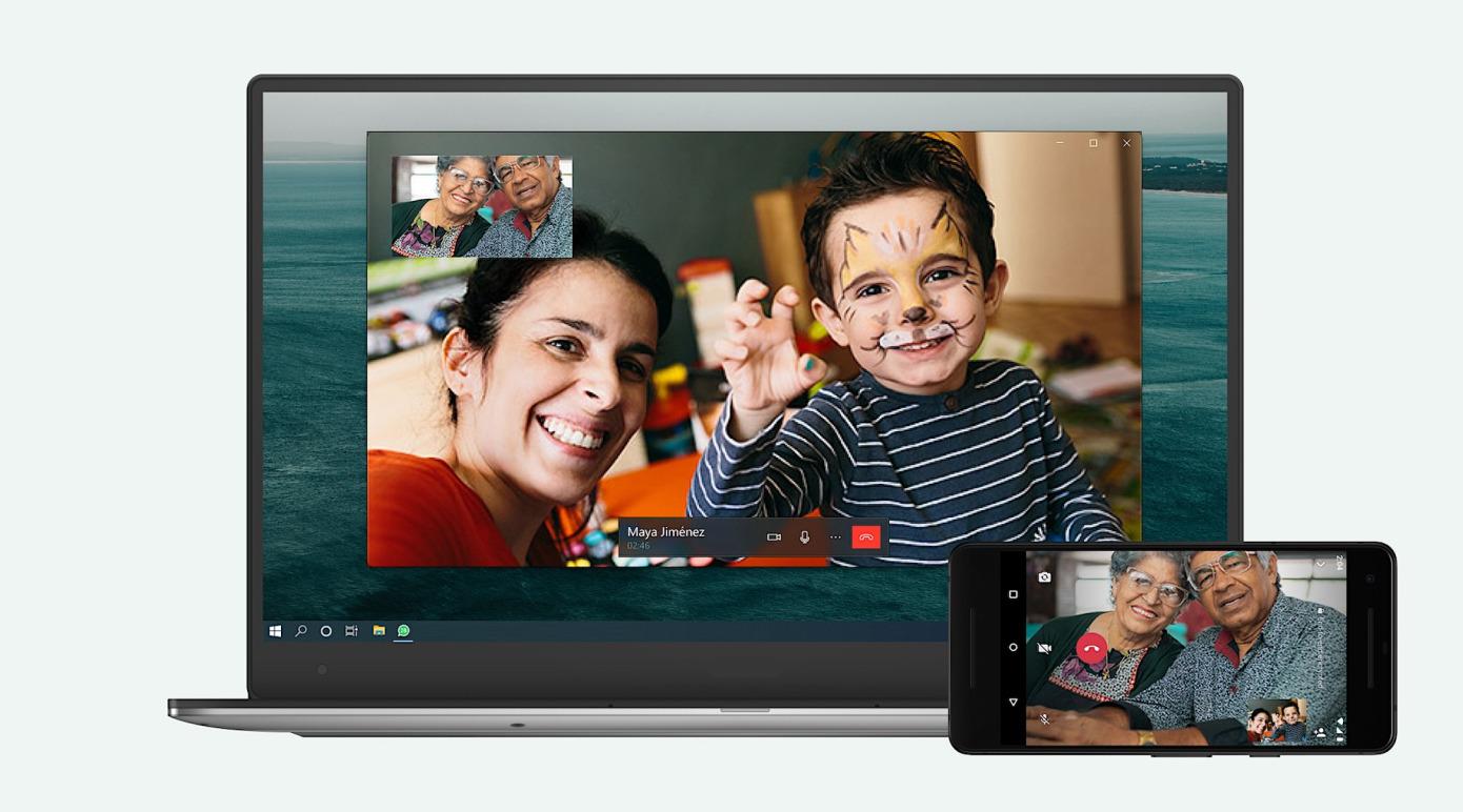 Adesso potete chiamare e videochiamare su WhatsApp anche da PC