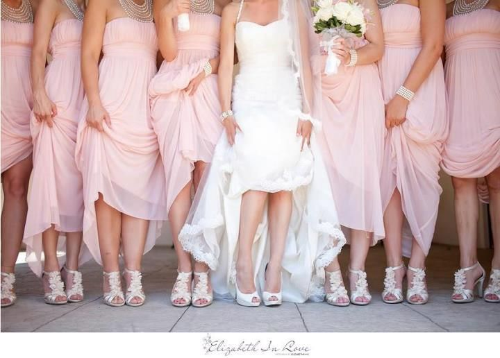 like fashion edressit how to match shoes with bridesmaid
