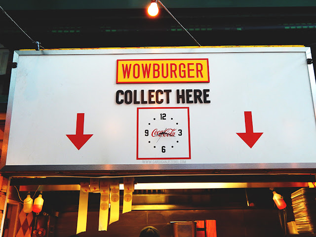 Wowburger Collection area