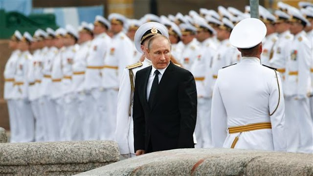 Russia celebrates Navy Day with major parades