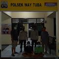 Dua Pelaku Penipuan dan Penggelapan Diamankan Polsek Way Tuba