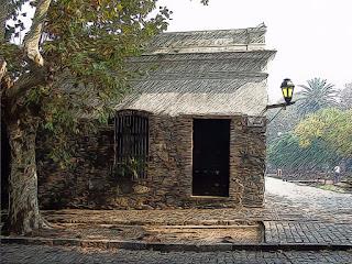 Construção Antiga de Colonia del Sacramento (Colônia do Sacramento) - Uruguai