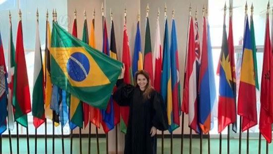 juiza primeira brasileira presidir tribunal onu