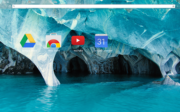 Blue Marble Chrome Theme