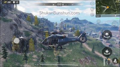 Cara menaikkan helikopter cod mobile di codm call of duty lokasi tempat