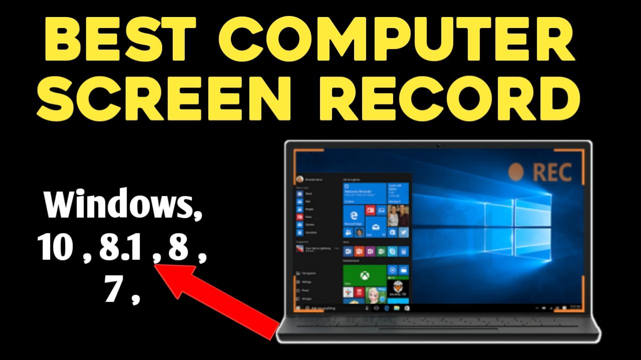 Top 5 Best Free Screen Recording Software 2019 2020 Techtips4world