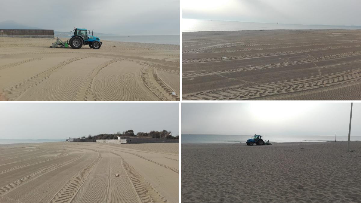 bonifica e pulizie spiagge libere