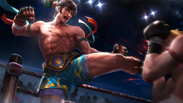 Wallpaper Skin Elite Chou - King of Fighter
