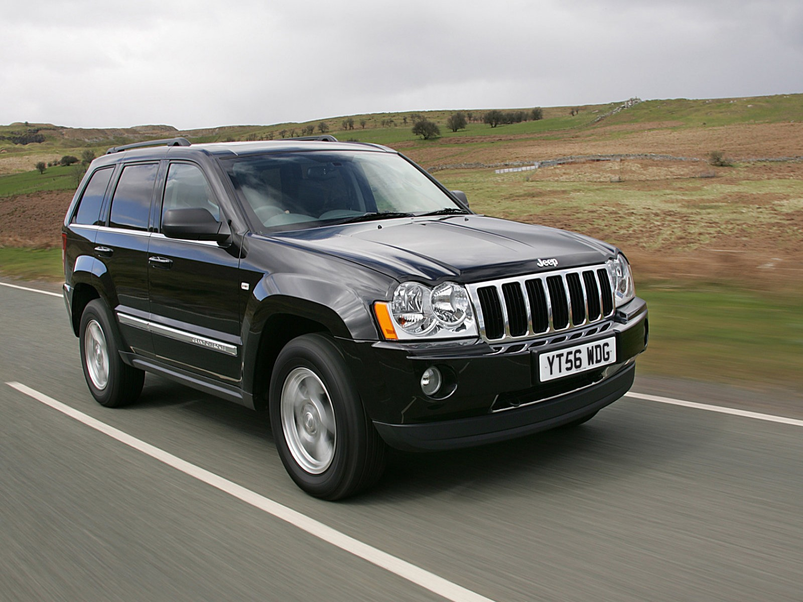 car pictures jeep grand cherokee uk version 2007. Black Bedroom Furniture Sets. Home Design Ideas