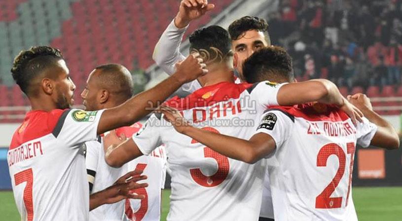 الوداد الرياضي يسحق فريق بيترو أتلتيكو برباعيه في المجموعات من دوري أبطال أفريقيا