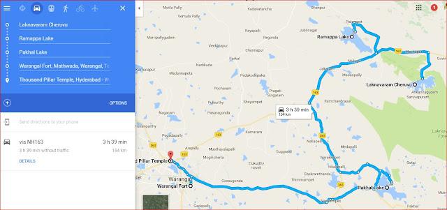 Hyderabad to warangal one day trip
