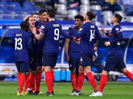 موعد مباراة فرنسا و البوسنة و الهرسك من تصفيات كأس العالم 2022: أوروبا