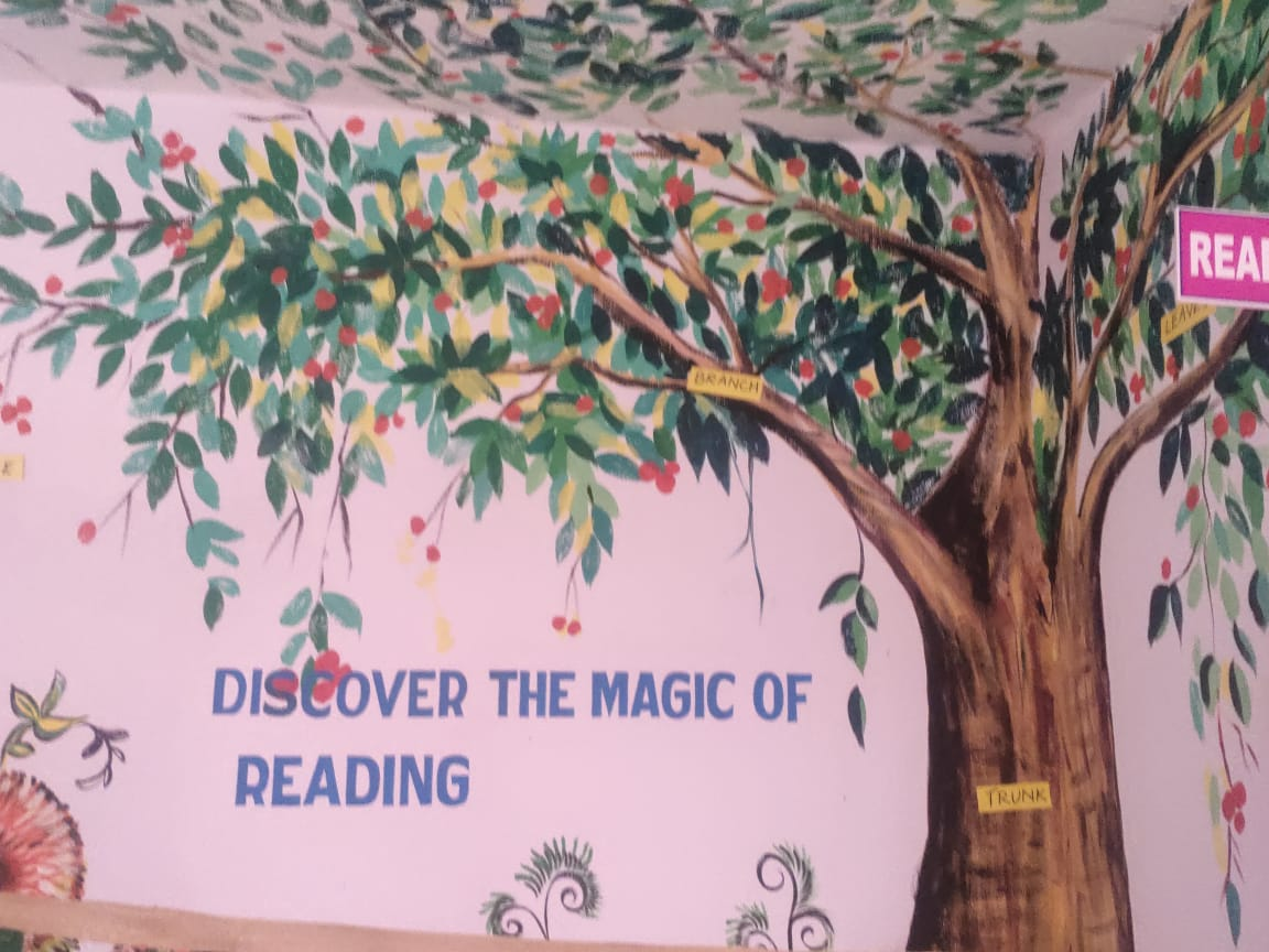 A Creative and Model English Language Resource Center
