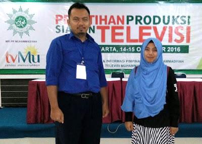 Dimas & Farin - pelatihan tvMu