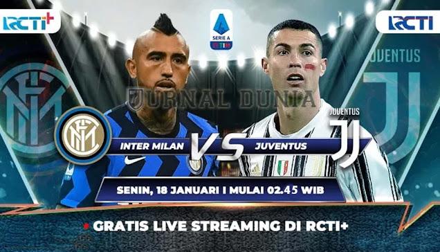 Prediksi Inter Milan vs Juventus, Senin 18 Januari 2020 Pukul 18.45 WIB @RCTI @beIN Sports