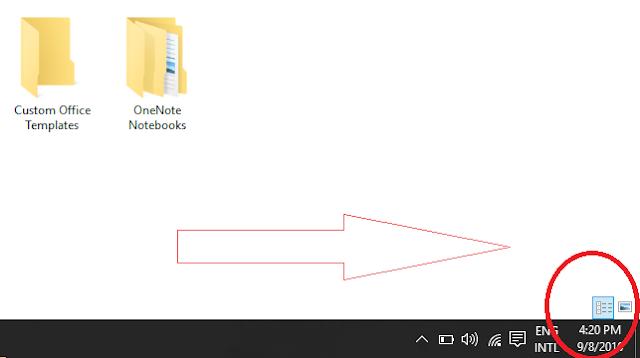 size of desktop icons, taskbar icon size,