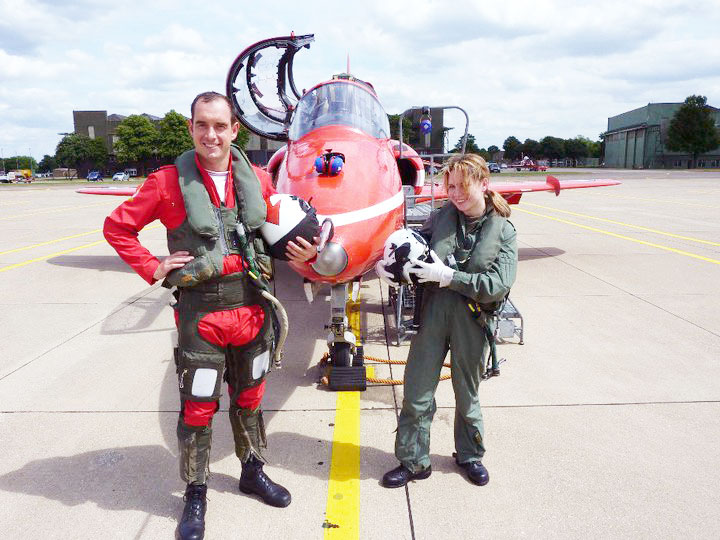 lebellelavie - The flight of a lifetime with the Red Arrows