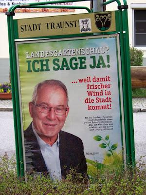 Andreas Gebauer zur Landesgartenschau Traunstein