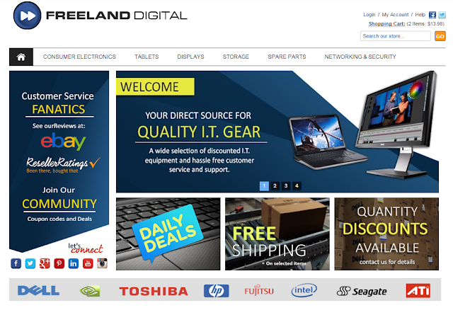 Wide Range of New, Refurbished and Tested #electronics @FreelandDigital.com.