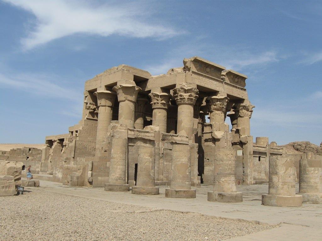 Templo de Kom Ombo, o único templo duplo egípcio