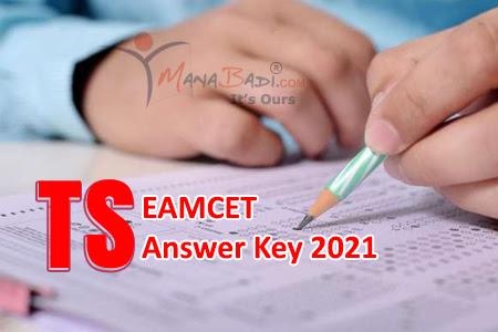 TS Eamcet Preliminary Key 2021