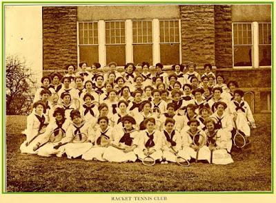 Harrisonburg Teachers College Racquet Club 1912 https://jollettetc.blogspot.com