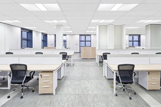 Sử dụng đèn led panel chiếu sáng văn phòng