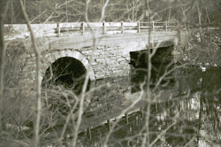 El puente de Clinton Brook en Clinton Road