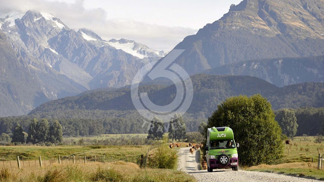 Road-trip in South Island New Zealand