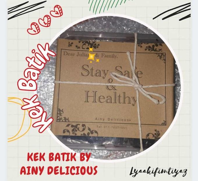 Nak Cuba Kek Batik Sedap : Order Online Jer Dari Ainy Delicious