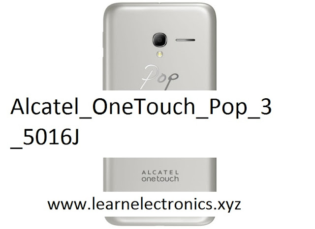 Alcatel One Touch Pop 3 5016J Stock Firmware Official 100% Tested