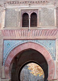 Puerta del Vino en la Alhambra