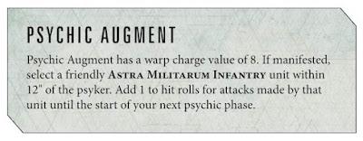 Reglas Psíquico Primaris Astra Militarum