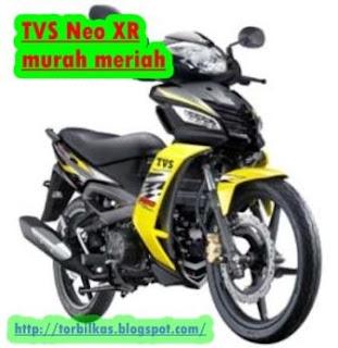 Daftar Harga TVS Neo XR Terbaru Januari 2017