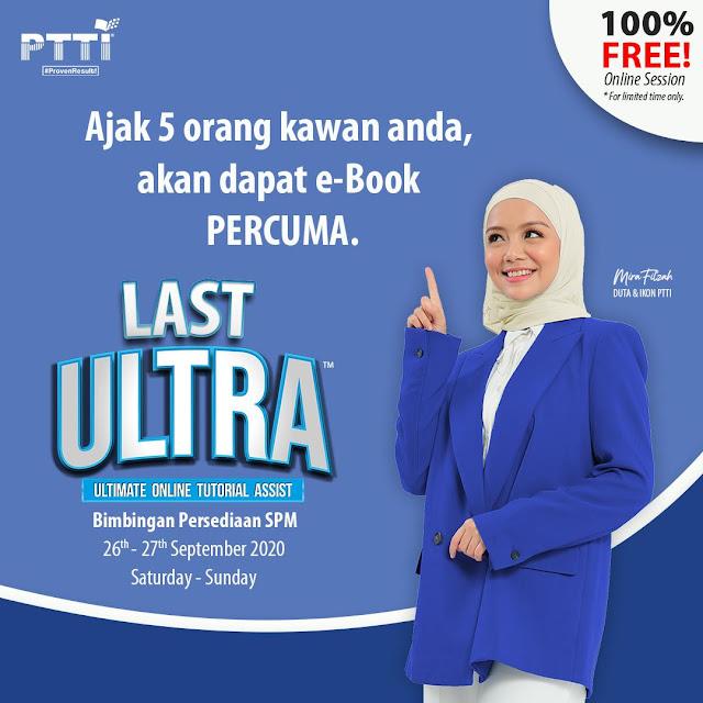 Mira Filzah Lawa Luaran, Mira Filzah, PTTI, Last Ultra, Bimbingan Persediaan SPM, Testimonial, Online Tutorial Assist, SPM, Online Class, Lifestyle