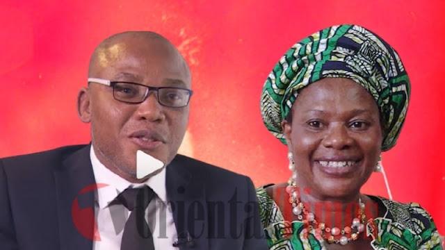 Dora Akunyili Was Poisoned By An Igbo Family — Nnamdi Kanu Claims
