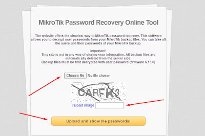 Lupa password mikrotik dan mengatasinya
