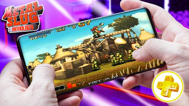 Metal Slug Anthology Para Android (Configuraciones) [ROM PSP]