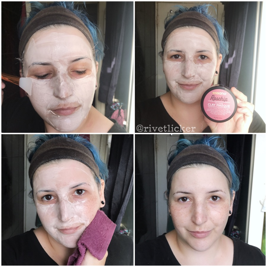 Rivet Licker Essano Rosehip Clarifying Clay Masque Rivetreview Klara Hylaronic Lip Mask The Product Is A Light Pink Colour And Has Thick Mousse Like Texture It Smells Exactly Essanos Gorgeous Oil Hand Cream